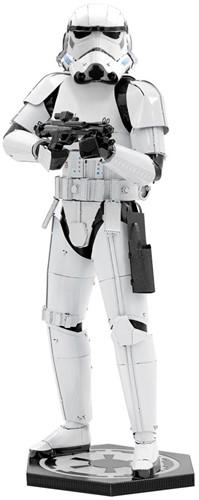 Metal Earth modelbouw Star Wars: Stormtrooper 17 cm staal wit