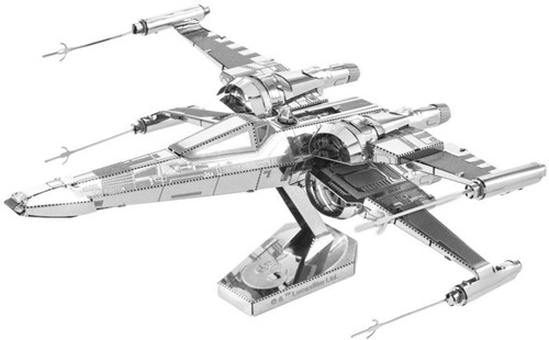 Metal Earth - Star Wars EP7 Poe Dameron's X-Wing Fighter - till end of stock