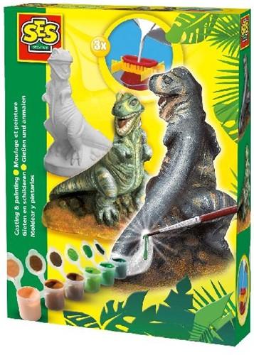 Ses 01283 Gips Gieten T-rex