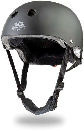 Kinderfeets Helm Matt schwarz