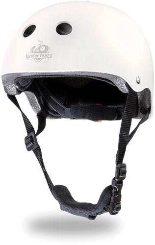 Kinderfeets Helm Matt Weiß