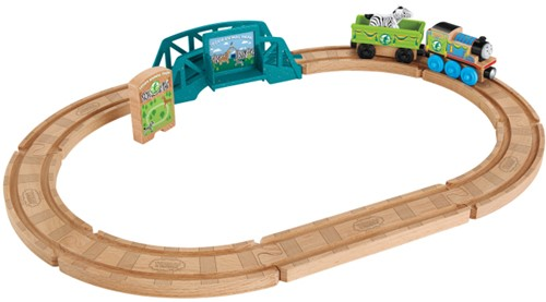 Thomas end seine Freunde holzeisenbahn Tierpark set