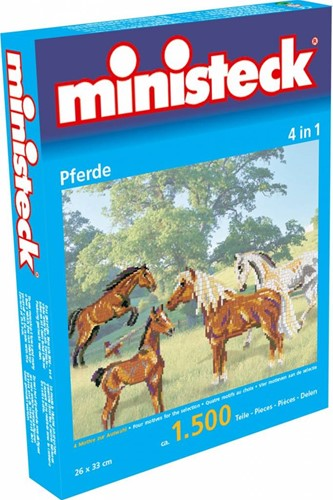 Ministeck Horses 4in1 XL Box - ca. 1.500 pieces