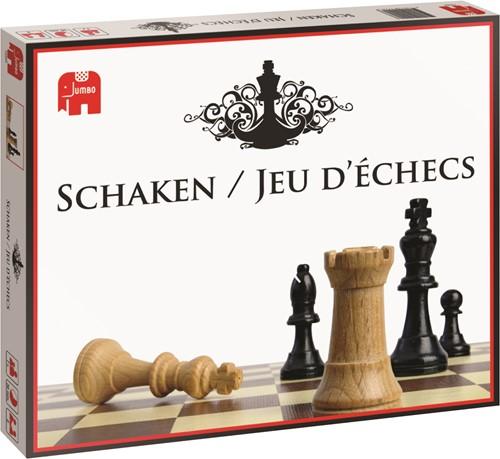 Jumbo Schaken Faltbares Schachbrett Desktop-Schachspiel