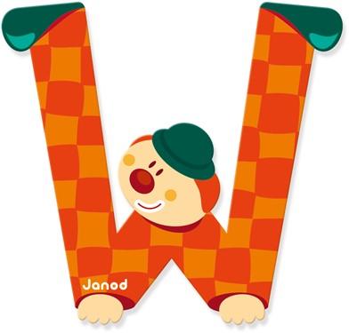 "Buchstabe ""Clown"" W"
