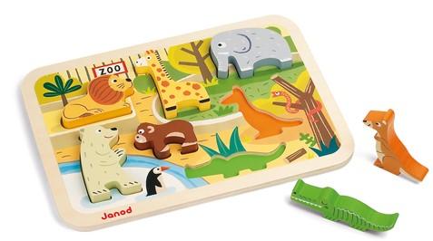 JANOD 07022 Formpuzzle 7 Stück(e)