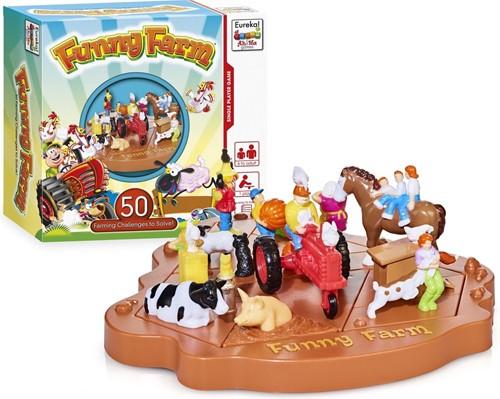 Eureka puzzel Ah!Ha Funny Farm