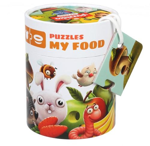 "Puzzlika puzzle """"My food"""""