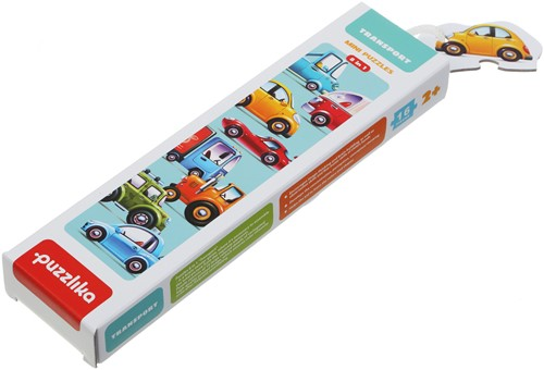 "Puzzlika puzzle 8 in 1 """"Transport"""""