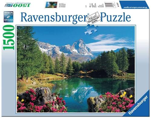 Ravensburger Bergmeer met Matterhorn Puzzlespiel 1500 Stück(e)