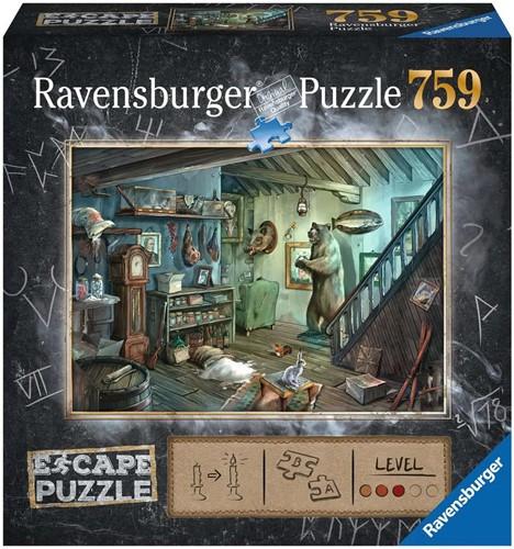 Ravensburger ESCAPE 8 Forbidden Basement 759 pcs.