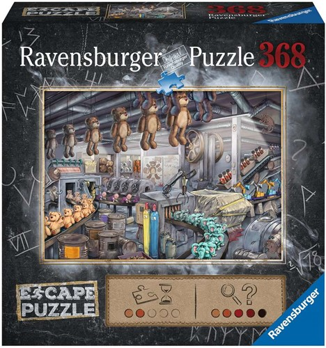 Ravensburger ESCAPE Toy Factory 368 pcs.