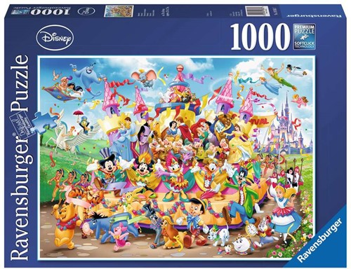 Ravensburger Disney Carnival Multicha Puzzlespiel 1000 Stück(e)