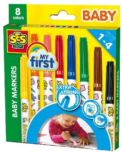Ses 00299 My First Baby Markers 8st