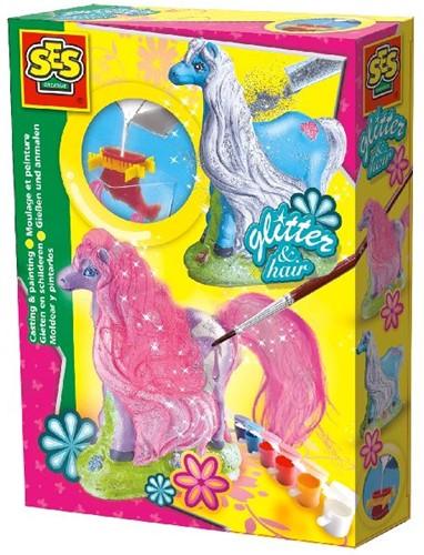 Ses 01272 Glitter Gips Gieten Paard