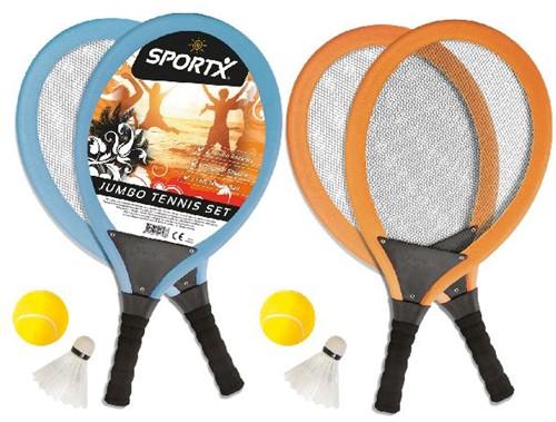 SportX Jumbo Tennis Set 2ass