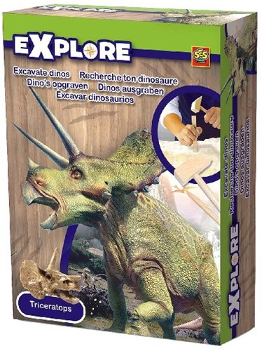 Ses 25022 Exlpore Dino's opgraven ass