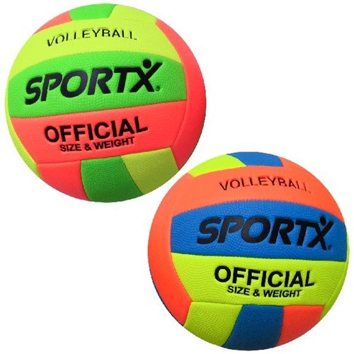 SportX Volleybal Multi Neon 260-280gr