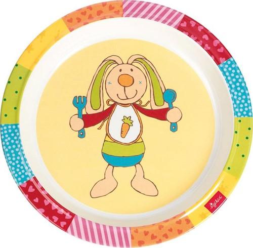 sigikid Melamin Teller, Rainbow Rabbit