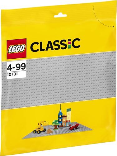LEGO Classic Graue Grundplatte 10701