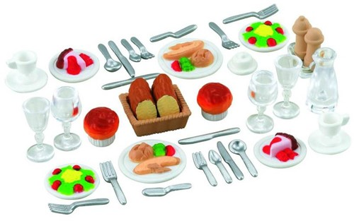 Sylvanian Families accessoires Families Dinner for Two 2818