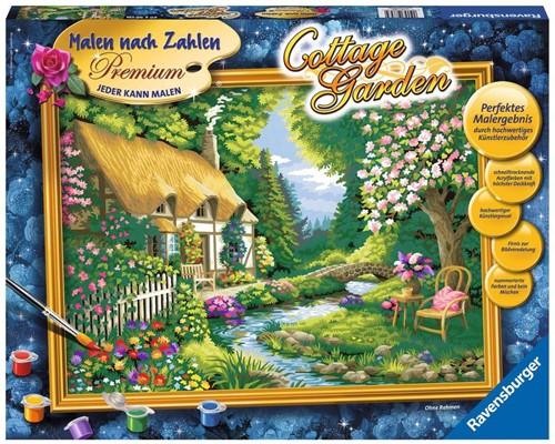 Ravensburger Cottage Garden Einzel Ausmalbild