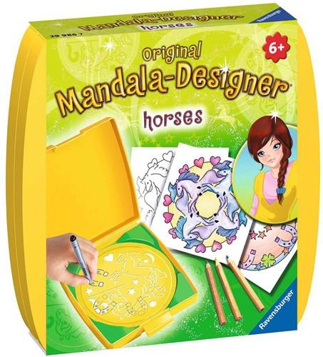 Ravensburger Mini Mandala-Designer Horses Spirograph für Kinder