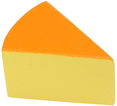 BigJigs Holzküche Zubehör Käse, Stück