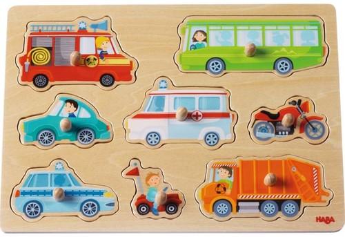 Haba Greifpuzzle Fahrzeug-Welt