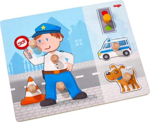 HABA Greifpuzzle Polizeieinsatz
