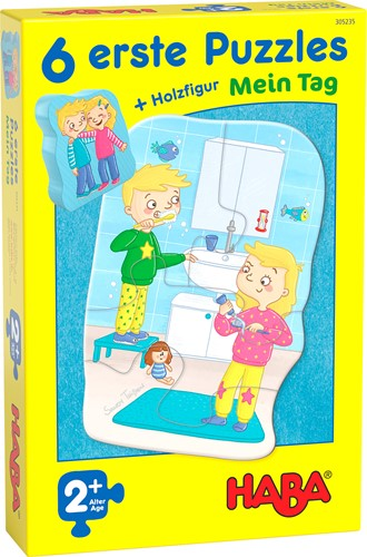 HABA 6 erste Puzzles - Mein Tag