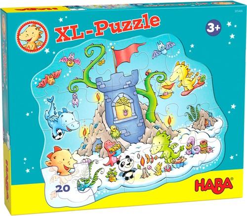 HABA Puzzle Drache Funkelfeuer - Puzzle -Party