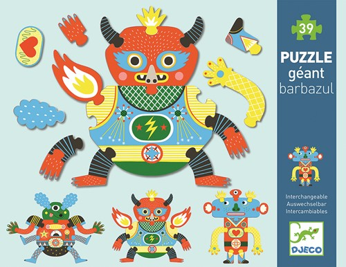 Djeco Crazy Puzzle - Barbazul