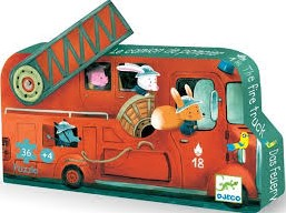 DJECO Das Feuerwehrauto