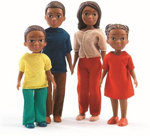 Djeco Maisons de poupées La famille de Milo & Lila