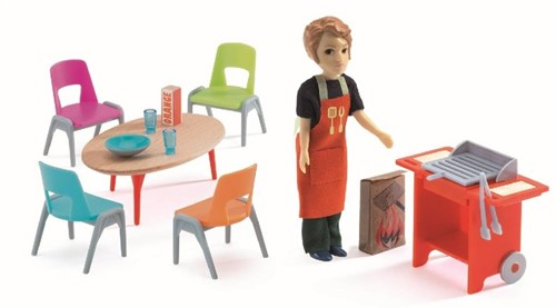 Djeco Maisons de poupées Barbecue & accessoires