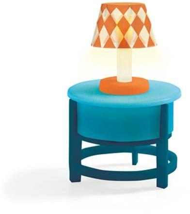 Djeco Maisons de poupées Lampe sur table ronde