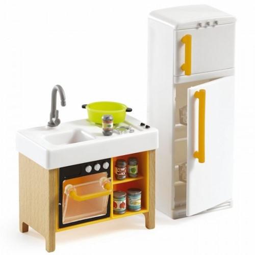 Djeco Maisons de poupées Cuisine compacte