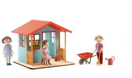 Djeco Maisons de poupées Maison de jardin