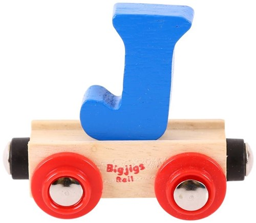 Bigjigs Rail Name Letter J (6)