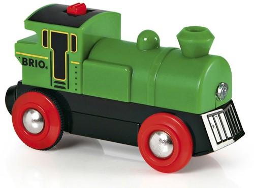 Brio Holz Eisenbahn Speedy Green 33595