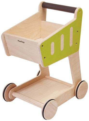 Plan Toys Holzküche Einkaufswagen