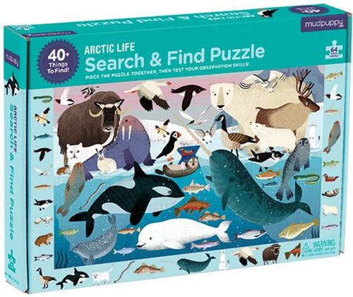 Mudpuppy Search & Find Puzzle/Arctic Life