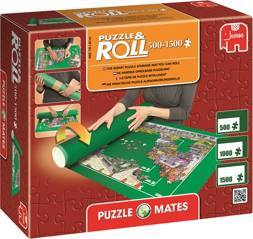 Puzzle Mates Puzzle & Roll up to 1500 Teilen