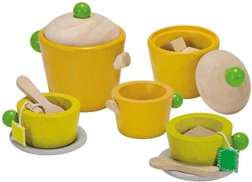 Plan Toys  Holzküche Zubehör Tee Set