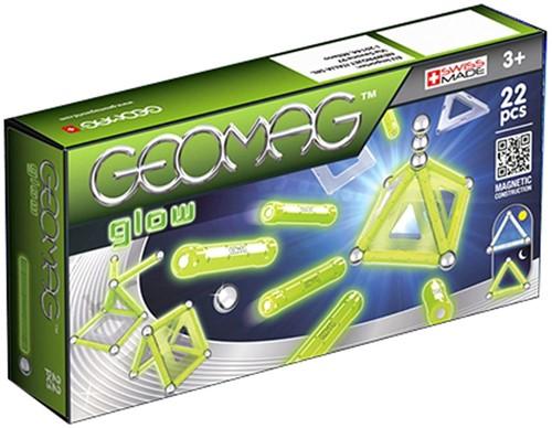 Geomag Panels Glow 22 pcs Neodymium-Magnetspielzeug 22 Stück(e) Grün