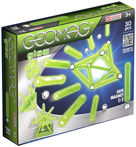 Geomag Color Glow 30 pcs Neodymium-Magnetspielzeug 30 Stück(e) Grün