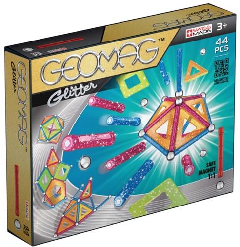 Geomag Panels Glitter 44 pcs Neodymium-Magnetspielzeug 44 Stück(e) Mehrfarbig