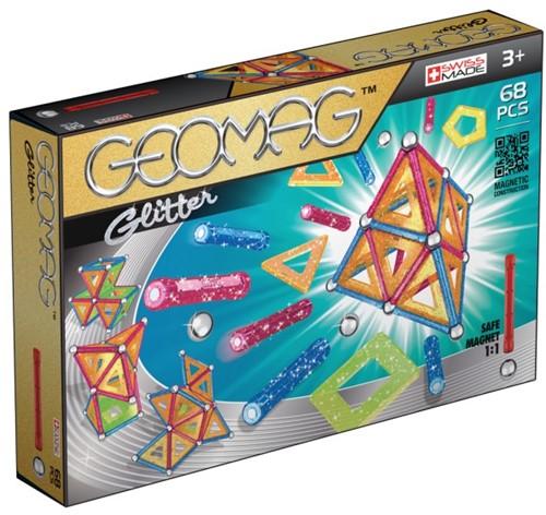 Geomag Panels Glitter 68 pcs Neodymium-Magnetspielzeug 68 Stück(e) Mehrfarbig