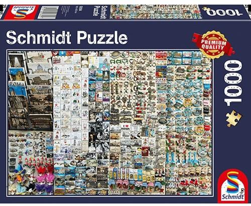 Schmidt puzzel Souvenier Kraam, 1000 stukjes - Puzzel